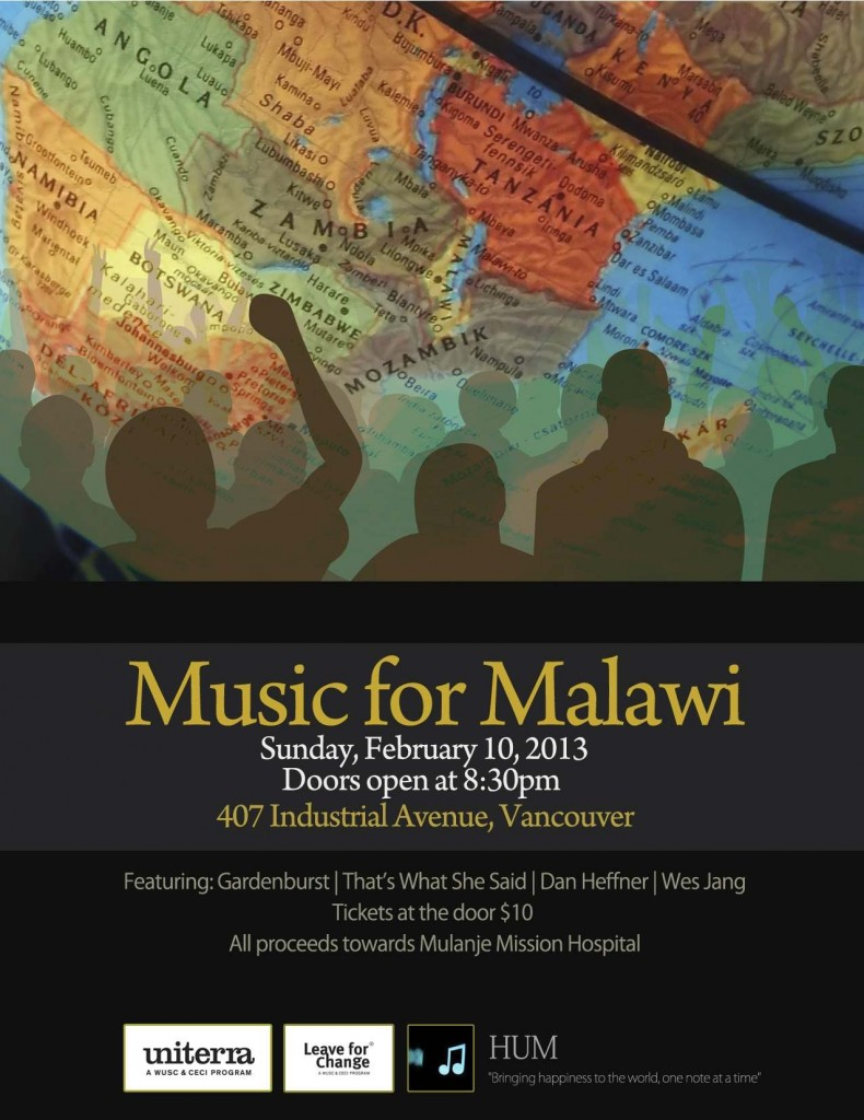 Music for Malawi Poster